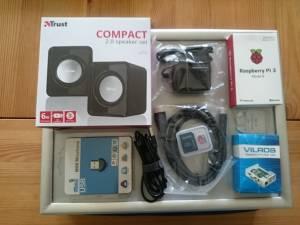 Basis-Hardware für Picroft