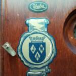 """Warmink Wuba - Tischuhr bzw. Kaminuhr Marken-Emblem """"JWA"""""""