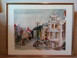 """""""San Francisco"""" - Wasserfarben-Gemälde von Jeanette Bothwell"""