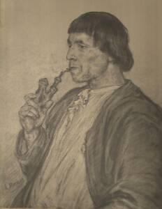 Bildnis Bernhard Matter von Ludwig Knaus (Kopie?)